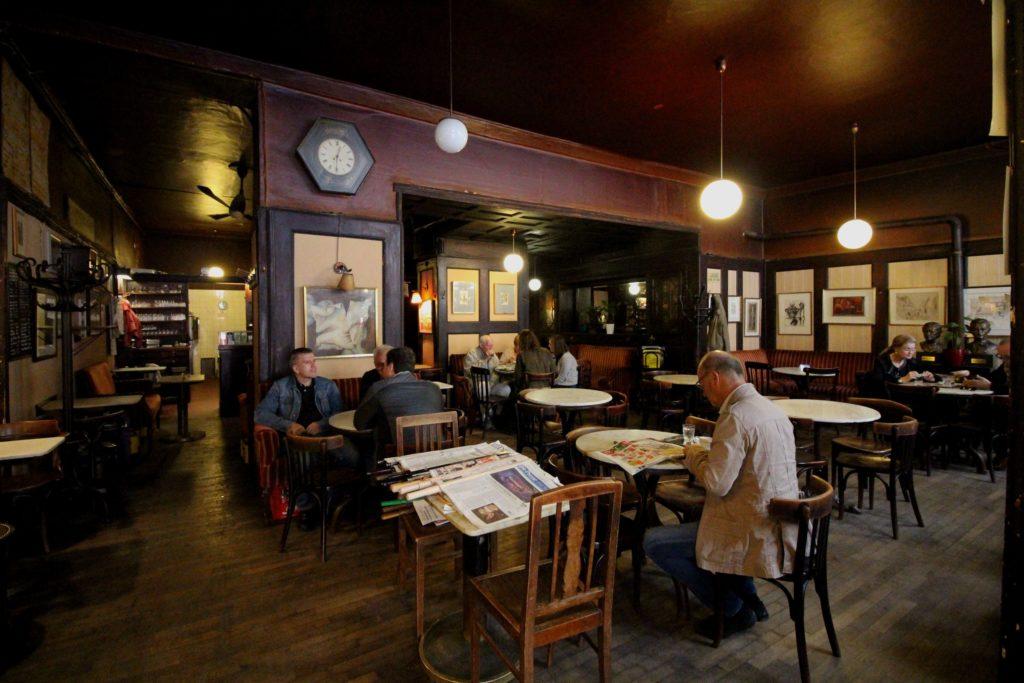 Кафе Hawelka в Вене