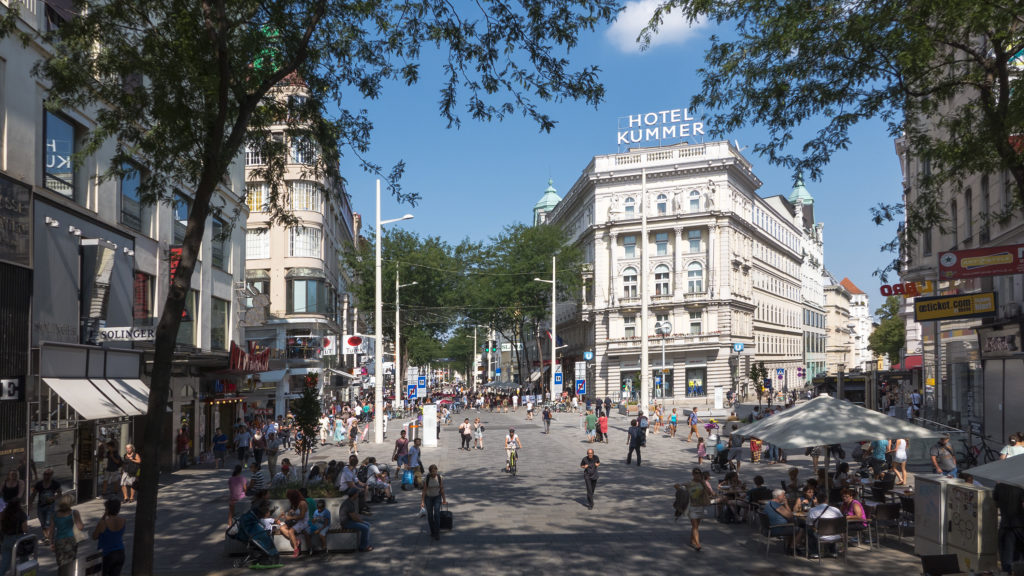 Шопинг в Вене - лучшие торговые улицы, центры и адреса