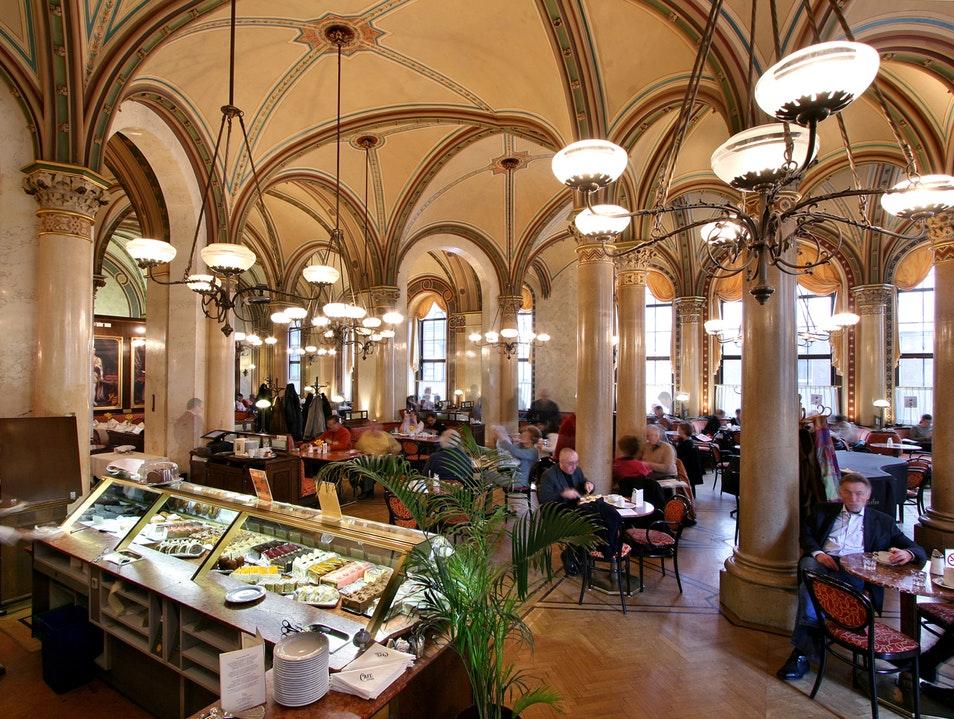 Кафе Central в Вене