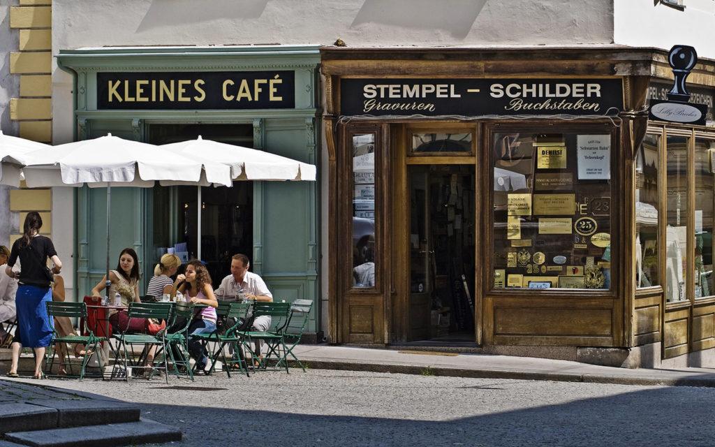 Кафе Kleines в Вене