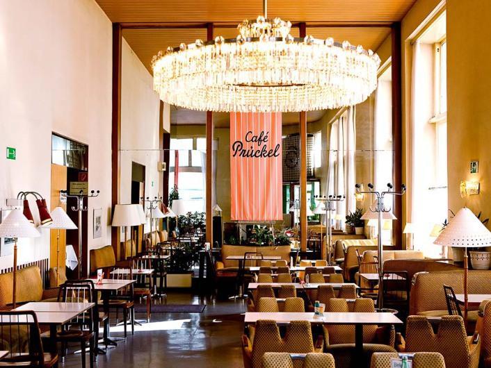 Кафе Prückel в Вене