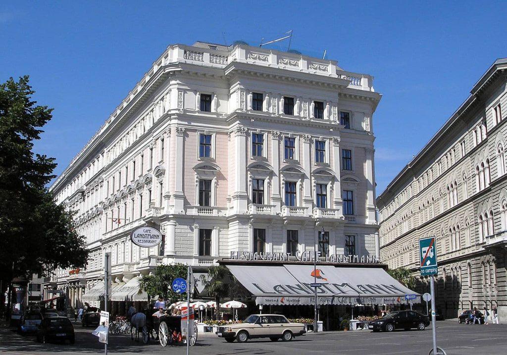 Кафе Landtmann в Вене