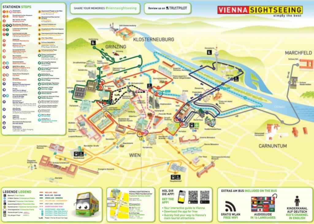 Карта для Vienna Pass в Вене