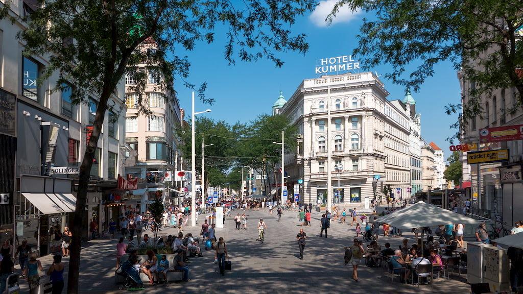 Улица Марияхильферштрассе в Вене